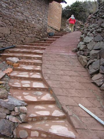 1 Escalera Compesada Y Rampa